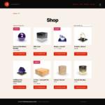 ETRON onRetail Schnittstelle WooCommerce Webshop-Ansicht