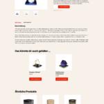 ETRON onRetail Schnittstelle WooCommerce Produkt-Detailseite