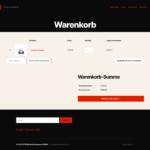 ETRON onRetail Schnittstelle WooCommerce Warenkorb